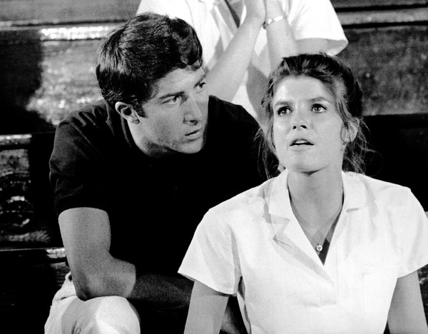 """The Graduate""Dustin Hoffman, Katharine Ross1967 Embassy Pictures Corporation - Image 3461_0021"