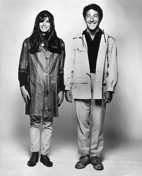 """""""The Graduate"""" Katharine Ross, Dustin Hoffman 1967 Embassy Pictures Corporation - Image 3461_0022"""