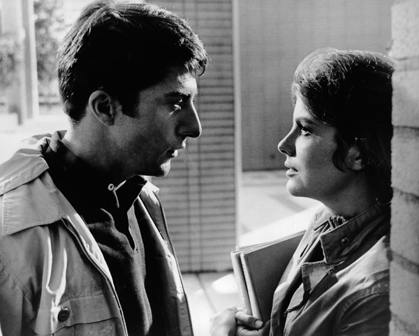 """The Graduate""Dustin Hoffman, Katharine Ross1967 Embassy Pictures Corporation - Image 3461_0025"