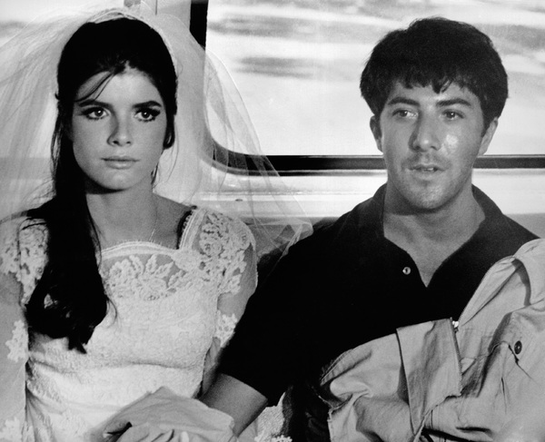 """The Graduate""Katharine Ross, Dustin Hoffman1967 Embassy Pictures Corporation - Image 3461_0026"