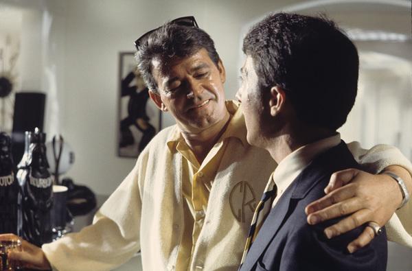 """The Graduate""Murray Hamilton, Dustin Hoffman1967© 1978 Bob Willoughby - Image 3461_0305"