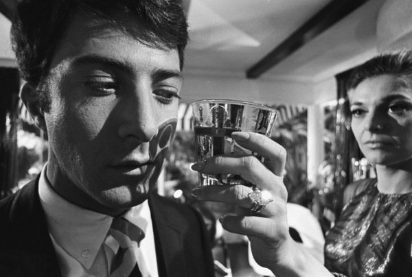 """The Graduate""Dustin Hoffman, Anne Bancroft1967© 1978 Bob Willoughby - Image 3461_0317"