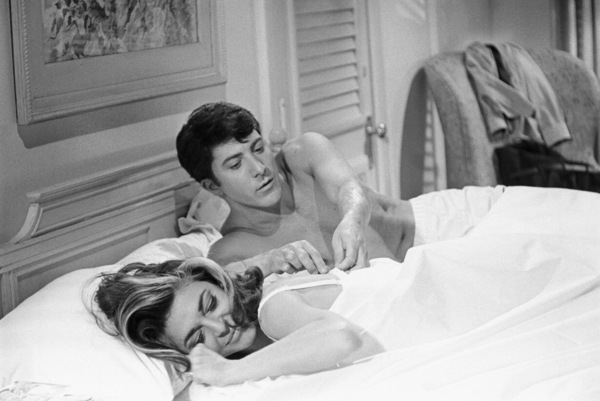 """""""The Graduate""""Anne Bancroft, Dustin Hoffman1967© 1978 Bob Willoughby - Image 3461_0337"""