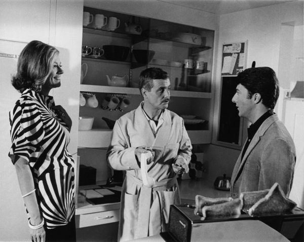 """The Graduate""Elizabeth Wilson, William Daniels, Dustin Hoffman1967 United Artists** I.V. - Image 3461_0760"