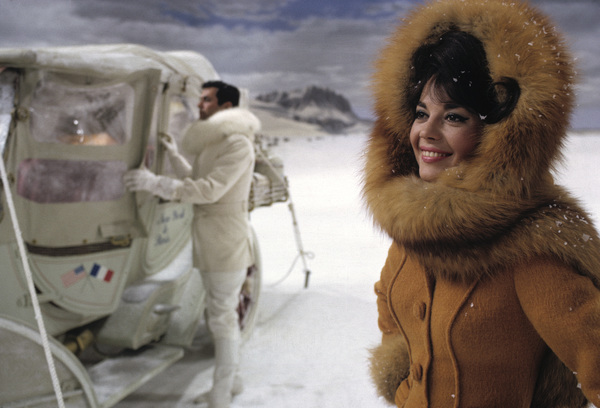 """""""The Great Race"""" Tony Curtis, Natalie Wood 1965 © 1978 Bob Willoughby - Image 3467_0432"""