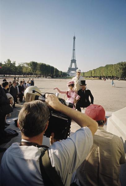 """The Grace Race""Photographer Mel Traxel, Natalie Wood, Tony Curtis, Jack Lemmon1965© 1978 Bob Willoughby - Image 3467_0434"