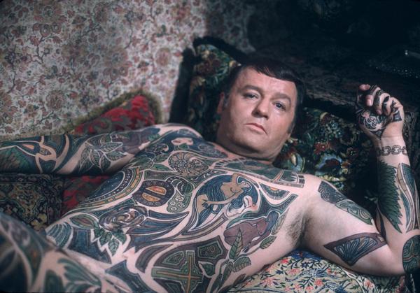 """Illustrated Man, The""Rod Steiger on the set1969 © 1978 David Sutton - Image 3500_0114"