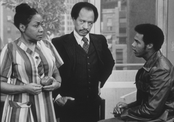 """Jeffersons, The""Isabel Sanford, Sherman Hemsley, Mike Evans1978 CBSPhoto by Gabi Rona - Image 3513_0001"