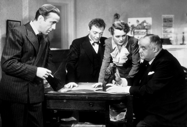 """The Maltese Falcon""Humphrey Bogart, Peter Lorre, Mary Astor, and Sidney Greenstreet1941 Warner Bros.MPTV - Image 3570_0010"