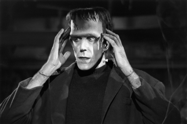 """""""The Munsters""""Fred Gwynne1964© 1978 Bob Willoughby - Image 3600_0110"""
