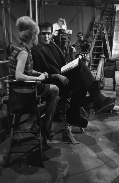 """The Munsters""Fred Gwynne on the set1964© 1978 Bob Willoughby - Image 3600_0139"
