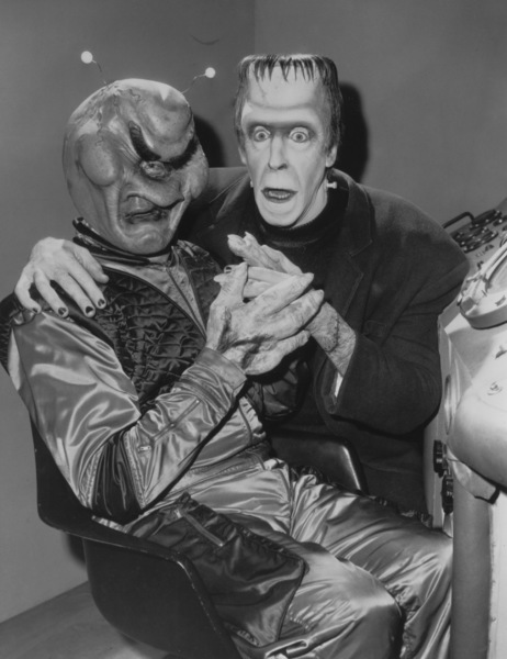 """""""The Munsters""""Fred Gwynne and Aliencirca 1964** Part of the Kevin Burns Collection - Image 3600_0209"""