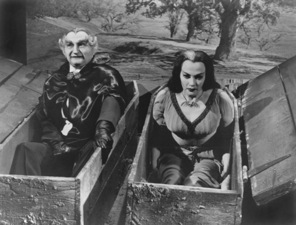 """""""The Munsters""""Al Lewis and Yvonne De Carlocirca 1964** Part of the Kevin Burns Collection - Image 3600_0227"""