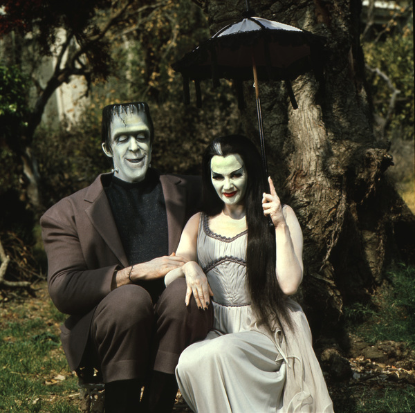 """The Munsters""Fred Gwynne, Yvonne De Carlocirca 1965** I.V. - Image 3600_0238"