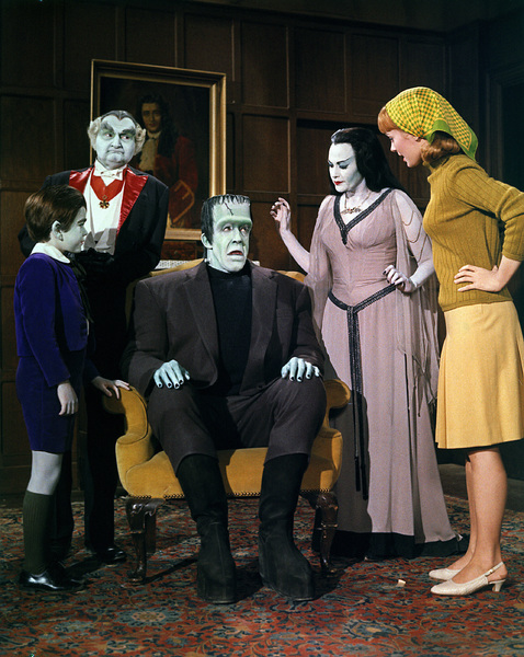 """Munster, Go Home""Butch Patrick, Al Lewis, Fred Gwynne, Yvonne De Carlo, Debbie Watson1966** Part of the Kevin Burns Collection - Image 3600_0296"