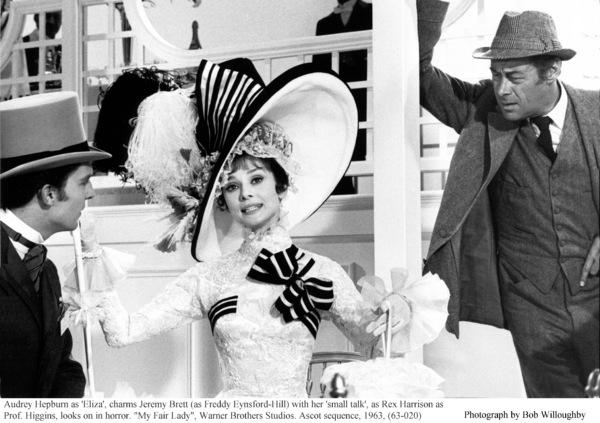 """My Fair Lady""Jeremy Brett, Audrey Hepburn, Rex Harrison1963 / Warner Brothers © 1978 Bob Willoughby - Image 3604_0800"