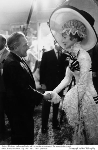 """My Fair Lady""Frederick Loewe, Audrey Hepburn1963 / Warner Brothers © 1978 Bob Willoughby - Image 3604_0803"