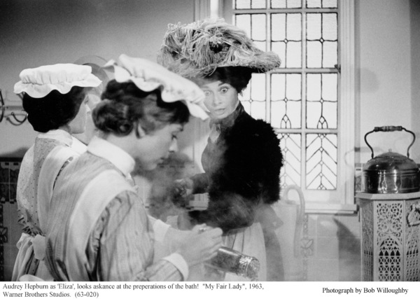 """""""My Fair Lady""""Audrey Hepburn1963 / Warner Brothers © 1978 Bob Willoughby - Image 3604_0823"""