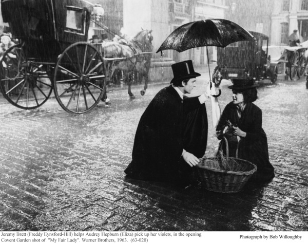 """My Fair Lady""Jeremy Brett, Audrey Hepburn1963 / Warner Brothers © 1978 Bob Willoughby - Image 3604_0825"