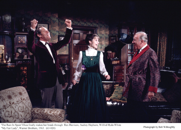 """My Fair Lady""Rex  Harrison, Audrey Hepburn, Wilfrid Hyde-White1963 / Warner Brothers © 1978 Bob Willoughby - Image 3604_0873"