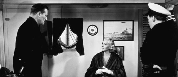 """The Sea Chase,"" Warner Bros. 1955.John Wayne and Lana Turner. - Image 3702_0001"