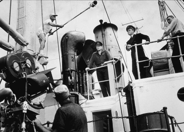 """The Sea Chase,""John WayneWarner Bros. 1955. - Image 3702_0009"