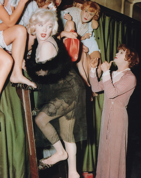 """Some Like It Hot""Marilyn Monroe, Jack Lemmon, Tony Curtis © 1959 UA  - Image 3733_0107"
