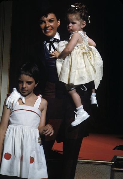 """A Star Is Born""Liza Minnelli, Judy Garland, Lorna Luft1954© 1978 Bob Willoughby - Image 3747_0175"