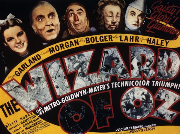 """The Wizard of Oz""Judy Garland, Frank Morgan, Ray Bolger, Bert Lahr, Jack Haley1939 MGM - Image 3823_0017"