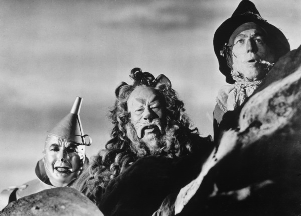 """The Wizard of Oz""Jack Haley, Bert Lahr, Ray Bolger1939 MGM - Image 3823_0046"