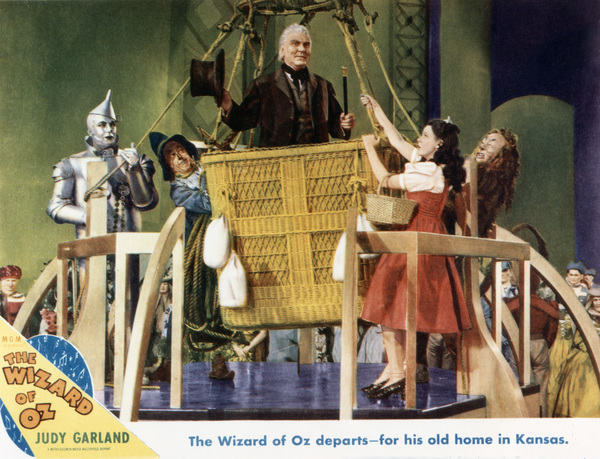 """The Wizard of Oz""Jack Haley, Ray Bolger, Frank Morgan, Judy Garland, Bert Lahr1939 MGM - Image 3823_0111"