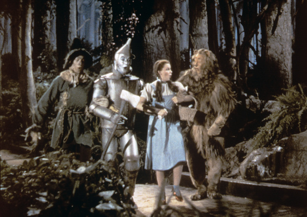 """The Wizard of Oz""Ray Bolger, Jack Haley, Judy Garland, Bert Lahr1939 MGM - Image 3823_0116"