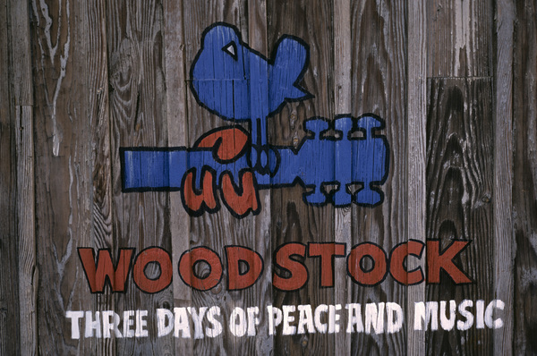 Woodstock sign1970© 1978 Ed Thrasher - Image 3829_0001
