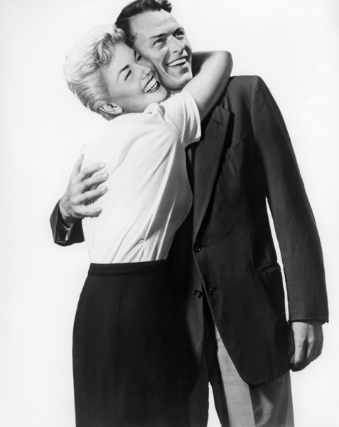 "Doris Day and Frank Sinatra in artwork for ""Young At Heart""1954 Warner Bros.** I.V. - Image 3835_0001"