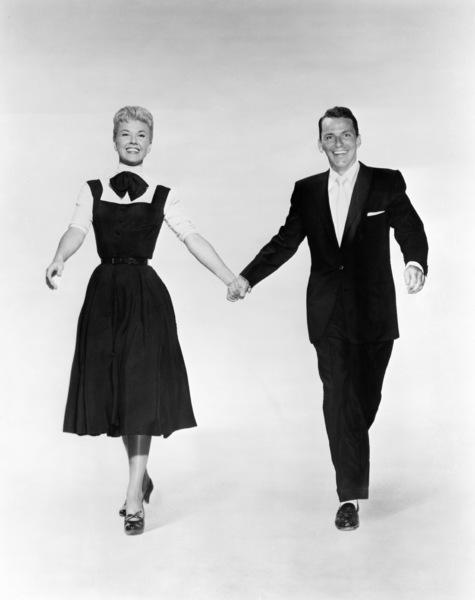 """Doris Day and Frank Sinatra in """"Young At Heart""""1954 Warner Bros.** I.V. - Image 3835_0002"""