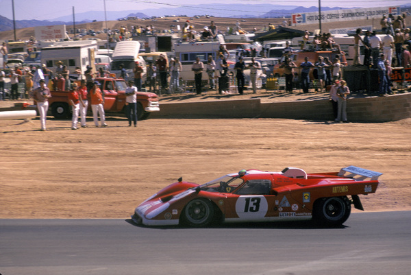 Cars1970 Ferrari 512 S Driver Sam Posey,at Riverside Raceway Nov 1973 © 1978 Ron Avery - Image 3846_0886