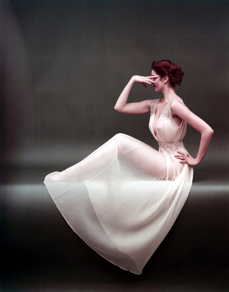 """Fashion"" Vanity Fair Gowncirca 1953 © 2000 Mark Shaw - Image 3956_0874"