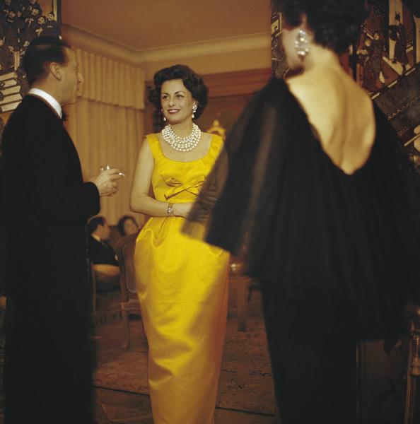 Dior fashion modelcirca 1958© 2013 Mark Shaw - Image 3956_1117