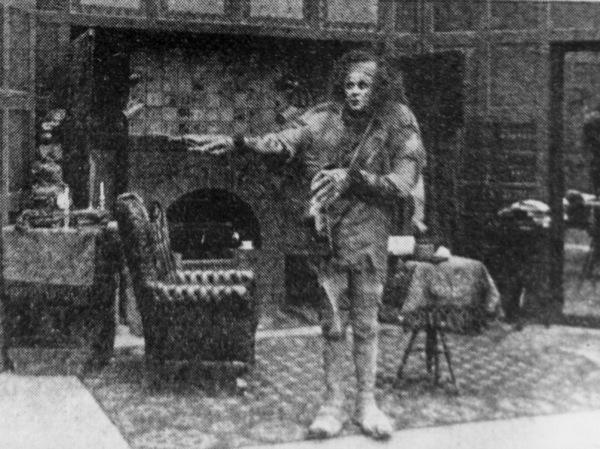 """Frankenstein""Charles Stanton Ogle1910 Edison Studios** I.V. - Image 3963_0080"