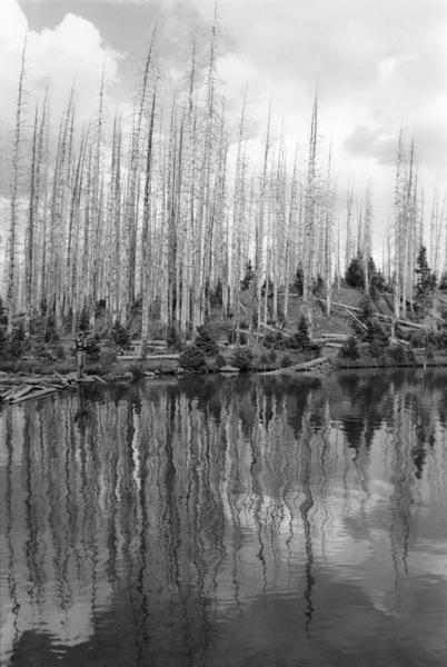 Shingle Lake and Park in Aspen, CO1978© 1978 Ed Thrasher - Image 3969_0062