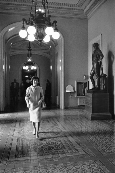 Jacqueline Kennedy at Washington D.C. 1959 © 2000 Mark Shaw  - Image 4027_0060