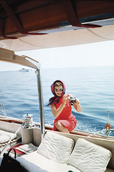 Jacqueline Kennedy in Ravello, Italy 1962 © 2000 Mark Shaw - Image 4027_0112