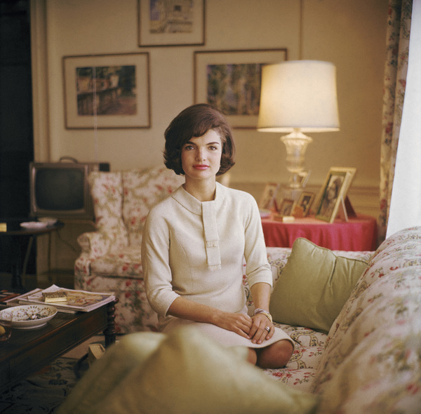 Jacqueline Kennedy in April of 1961 © 2011 Mark Shaw - Image 4027_0149