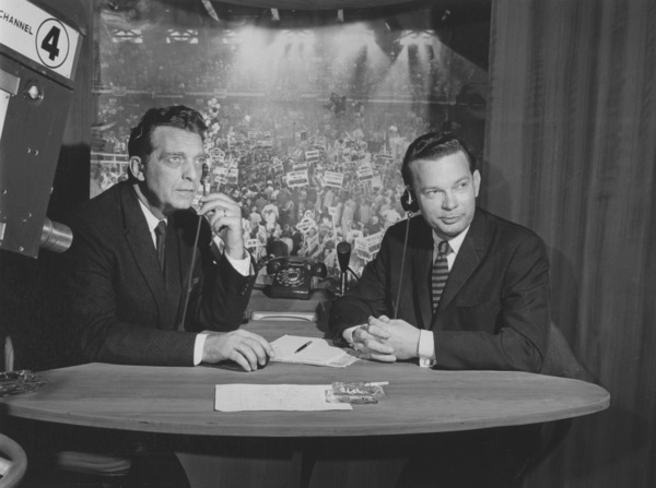 David Brinkley & Chet Huntley (On the Left)Circa 1960 - Image 4066_0002