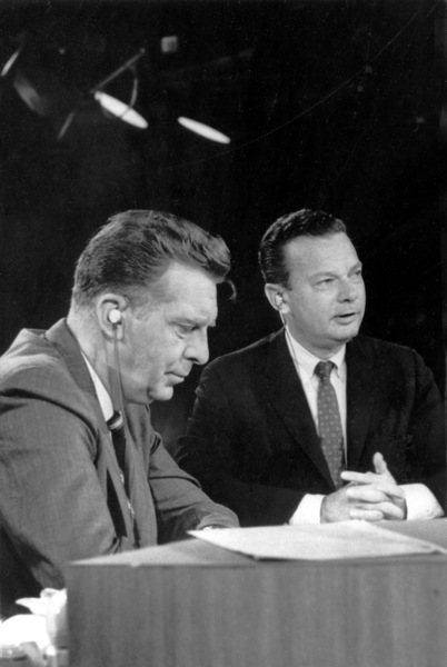 David Brinkley & Chet Huntley (On the Left)Circa 1964 - Image 4066_0003