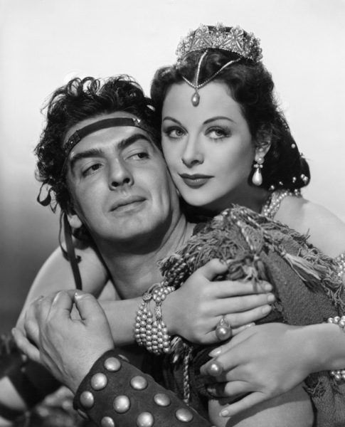 """Samson and DelillahHedy Lamarr, Victor Mature1949 Paramount PicturesPhoto by A.L. Whitey Schafer - Image 4161_0012"