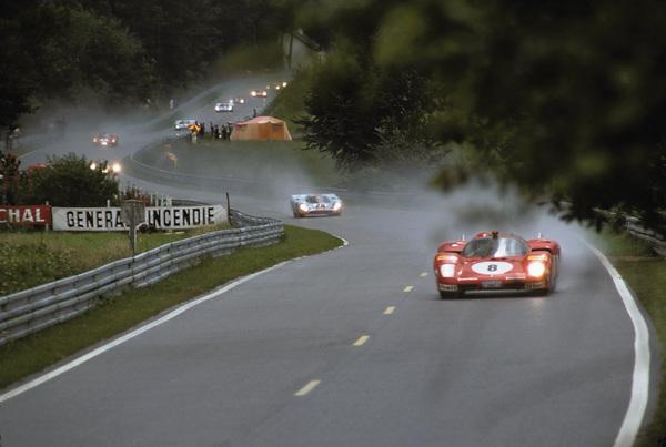 """""""Le Mans""""Ferrari 512 S,Porsche 9171971 Solar Productions © 1978 Mel TraxelMPTV - Image 4170_0012"""