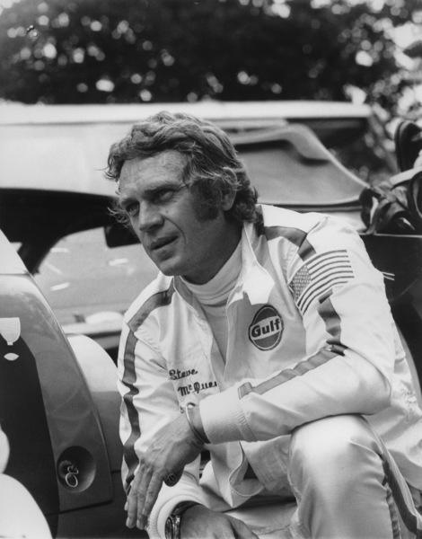 Steve McQueen in Sebring, Florida during the 12 Hours of Sebring1970** G.S.C. - Image 4170_0016