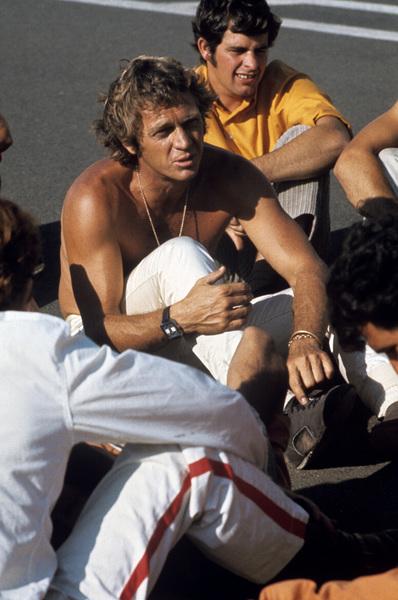 """Le Mans""Steve McQueen, Brian Redman1971© 1978 Mel Traxel - Image 4170_0037"