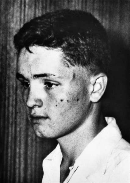 Charles Manson in Indianapolis at the age of 14circa 1948  - Image 4203_0050